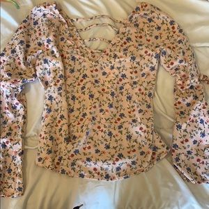 Hollister blouse size medium